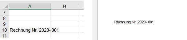 Excel – Text plusJahreszahl