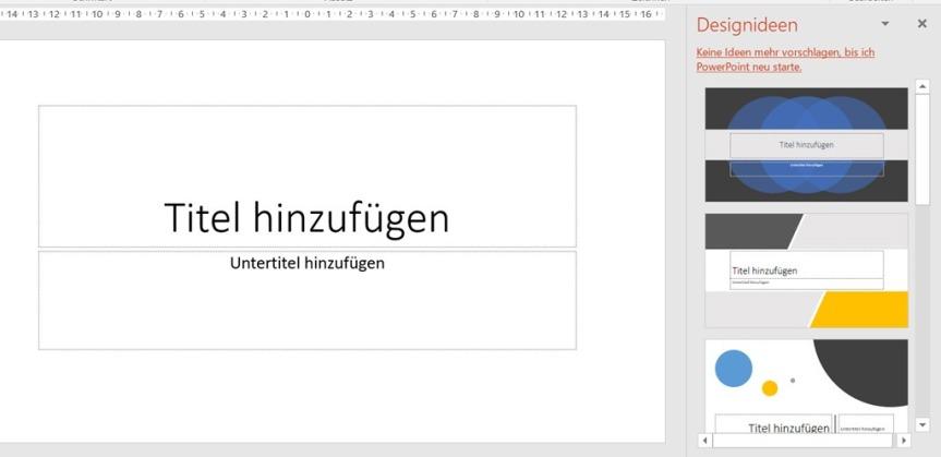 PowerPoint – Designideen