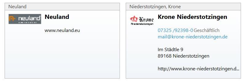 Outlook Visitenkarten Für Kontakt Anpassen Bork Blog