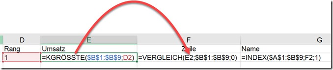 Excel – Formeln schrittweiseaufbauen