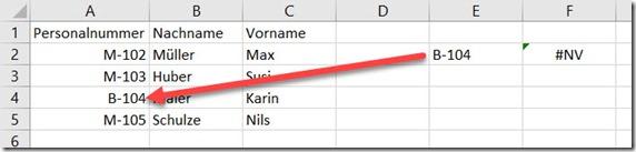 Excel – SVERWEIS findet nichts wegenLeerschritten