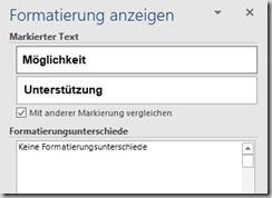 Word–Index formatiert nichtfett