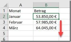 Excel – Rechnen mitINDIREKT