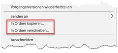 Windows Explorer – Kontextmenü ergänzen