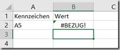 Excel – SVERWEIS und formatierteTabelle
