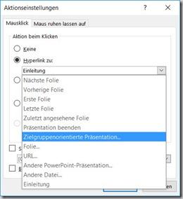 PowerPoint – Zielgruppenpräsentation