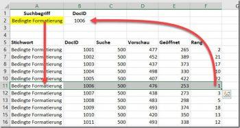 Excel – Zwei Kriterien für denINDEX