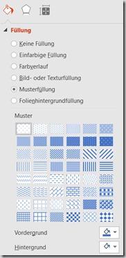 PowerPoint – Schraffur
