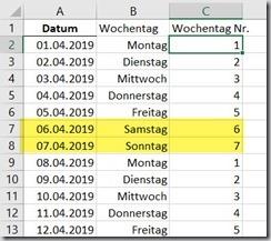 Sommerakademie – Lösung 2:Excel
