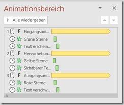 PowerPoint – Animation mitHervorhebung
