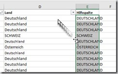 Excel–Hilfe … Adresslisten