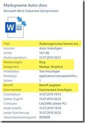 Windows – Dateieigenschaften nutzen