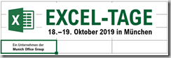 Excel-Tage in München