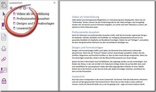 Nuance PDF – Ansicht beimÖffnen