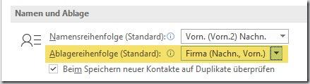 """Outlook–Kontakt """"Speichern unter"""""""