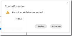 WebEx Meeting–Chat speichern undsenden