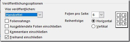 PowerPoint–Exportieren als PDF