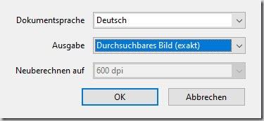 Adobe Acrobat–Texterkennung in vielenDateien